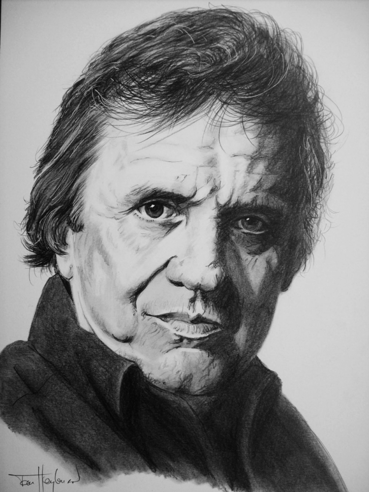 Johnny Cash par Tom-Heyburn